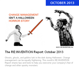 The RE:INVENTION Report: October 2013