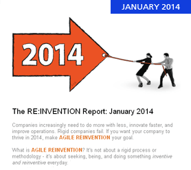 The RE:INVENTION Report: January 2014
