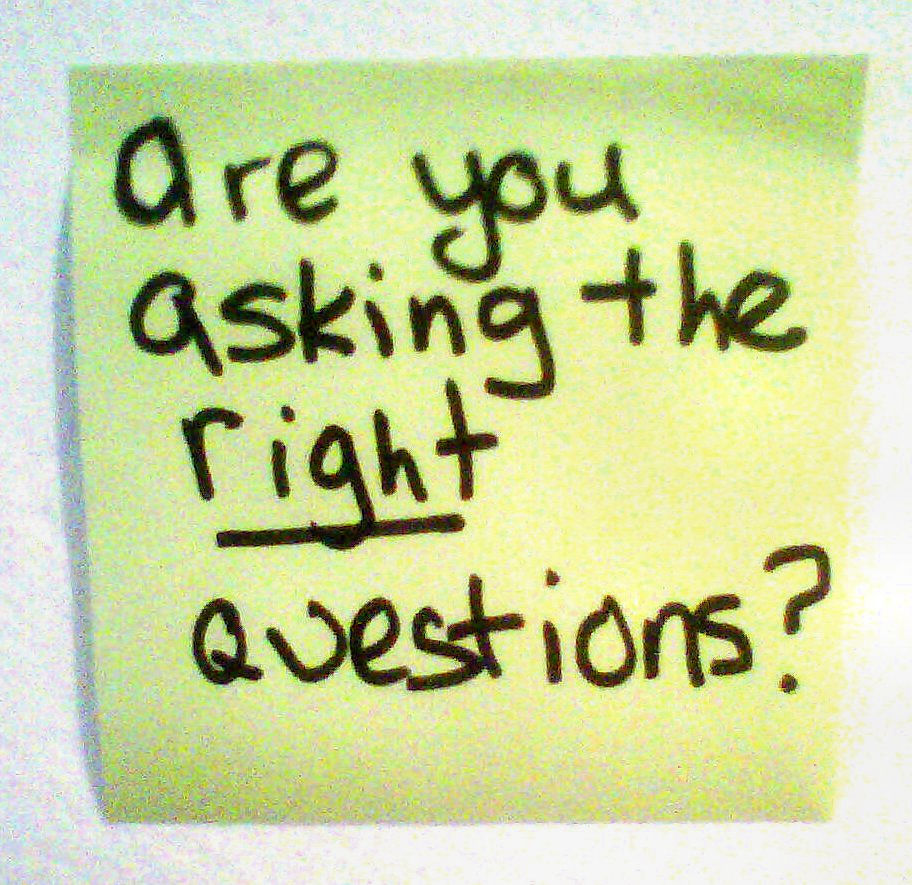 Image result for asking the right questions